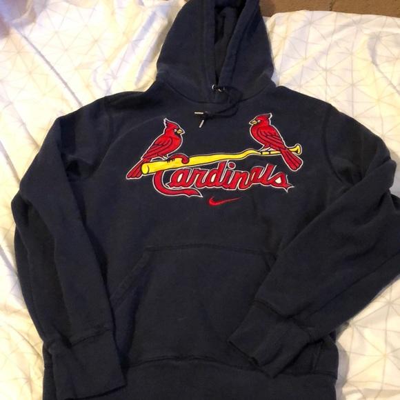 on sale 7bdbc b0337 Blue St Louis Cardinals Nike Hoodie